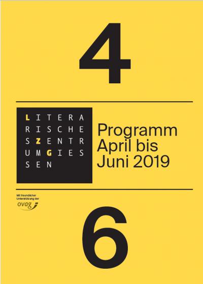 Programm April bis Juni 2019